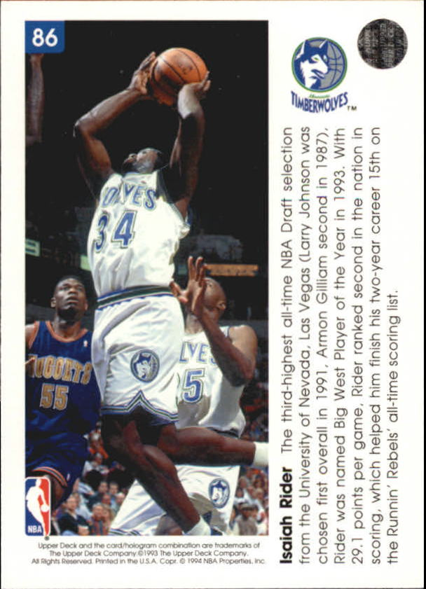 1993-94-Upper-Deck-Pro-View-Basketball-Cards-Pick-From-List thumbnail 147