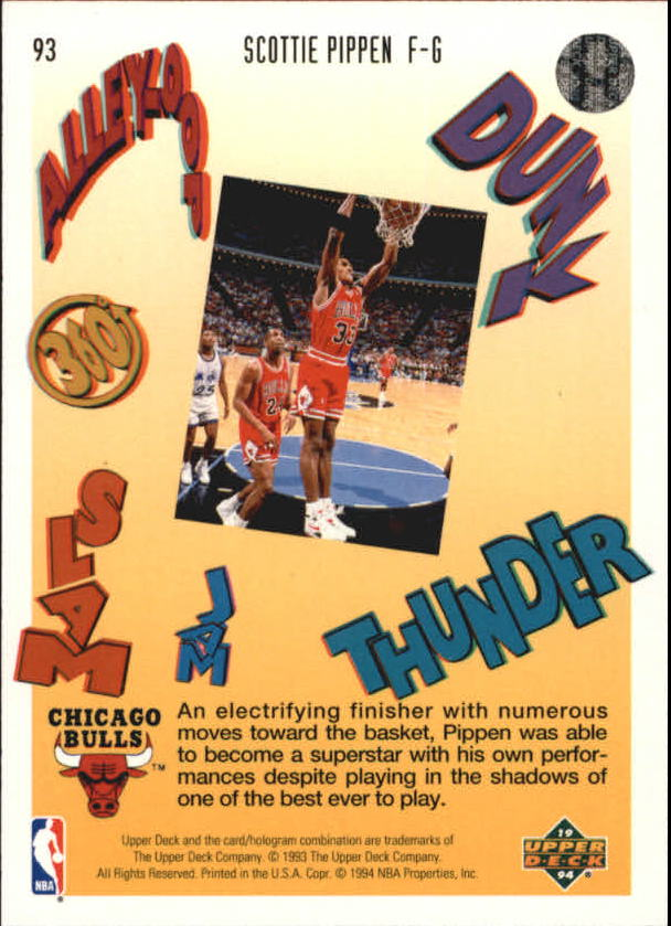 1993-94-Upper-Deck-Pro-View-Basketball-Cards-Pick-From-List thumbnail 156
