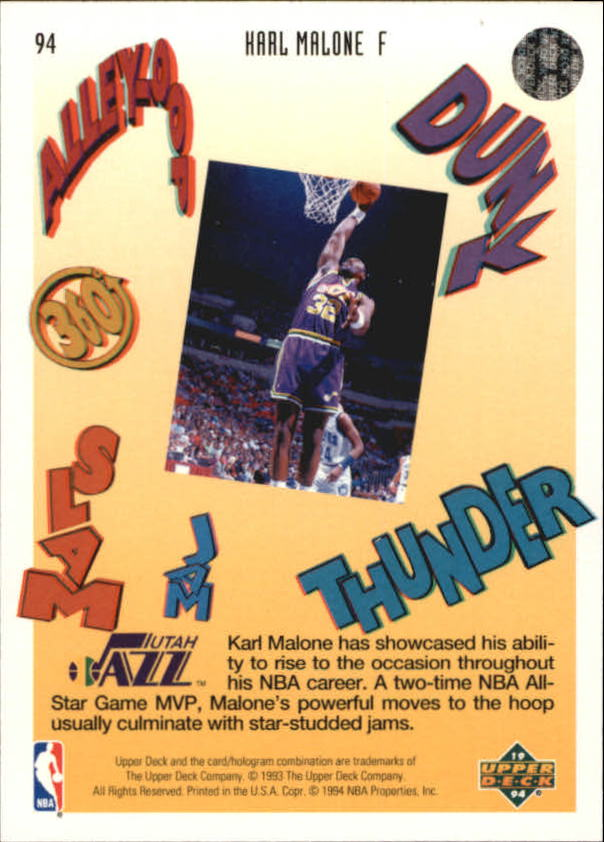 1993-94-Upper-Deck-Pro-View-Basketball-Cards-Pick-From-List thumbnail 158