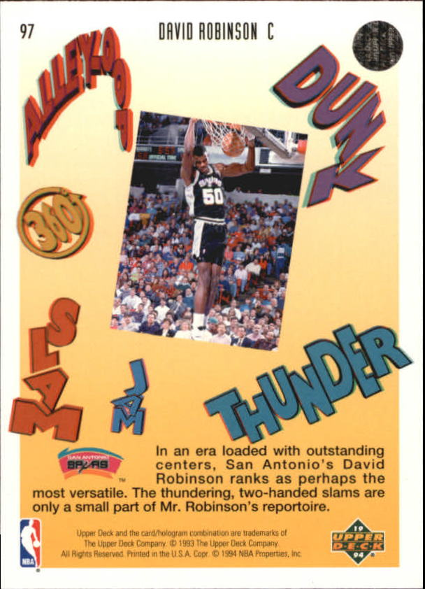 1993-94-Upper-Deck-Pro-View-Basketball-Cards-Pick-From-List thumbnail 162