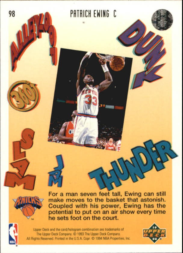 1993-94-Upper-Deck-Pro-View-Basketball-Cards-Pick-From-List thumbnail 164