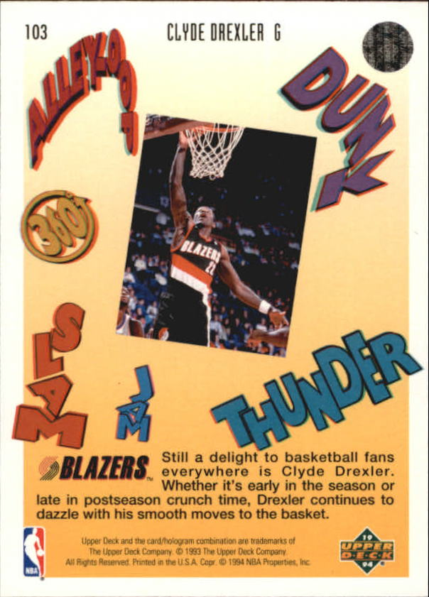 1993-94-Upper-Deck-Pro-View-Basketball-Cards-Pick-From-List thumbnail 172
