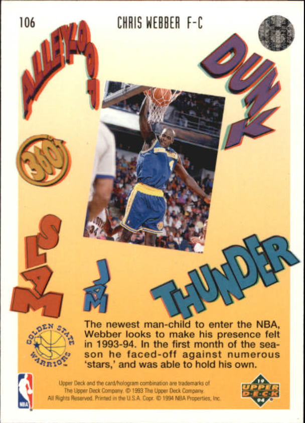1993-94-Upper-Deck-Pro-View-Basketball-Cards-Pick-From-List thumbnail 176