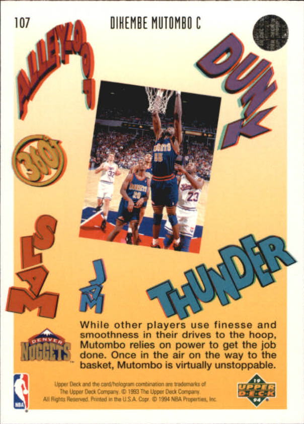 1993-94-Upper-Deck-Pro-View-Basketball-Cards-Pick-From-List thumbnail 178