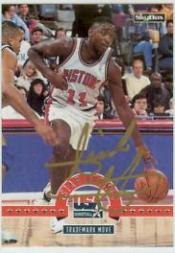 1994 SkyBox USA Autographs #47A Isiah Thomas
