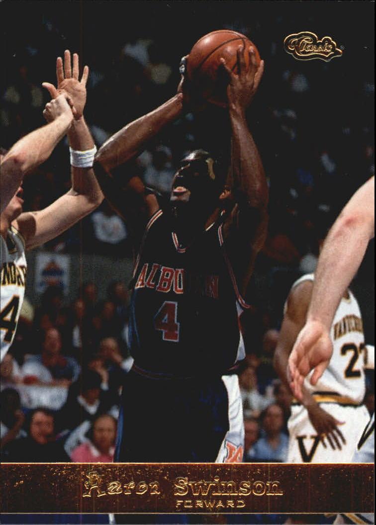 1994 Classic Gold #100 Aaron Swinson