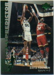 1994-95 Upper Deck Predictor League Leaders #R1 David