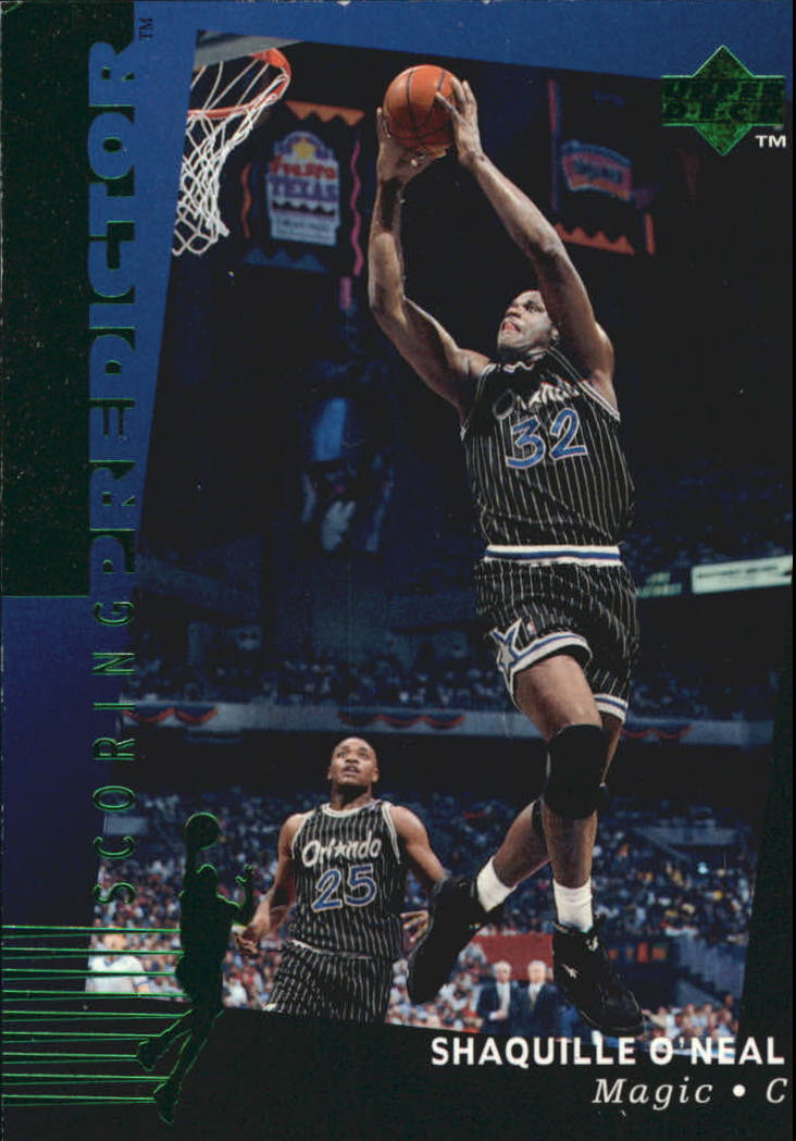 1994-95 Upper Deck Predictor League Leaders #R2 Shaquille O'Neal W1