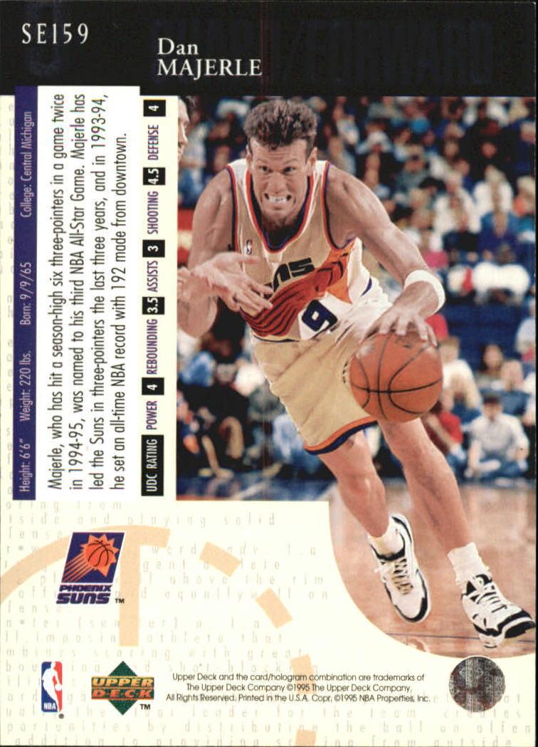 1994-95 Upper Deck Special Edition #159 Dan Majerle back image