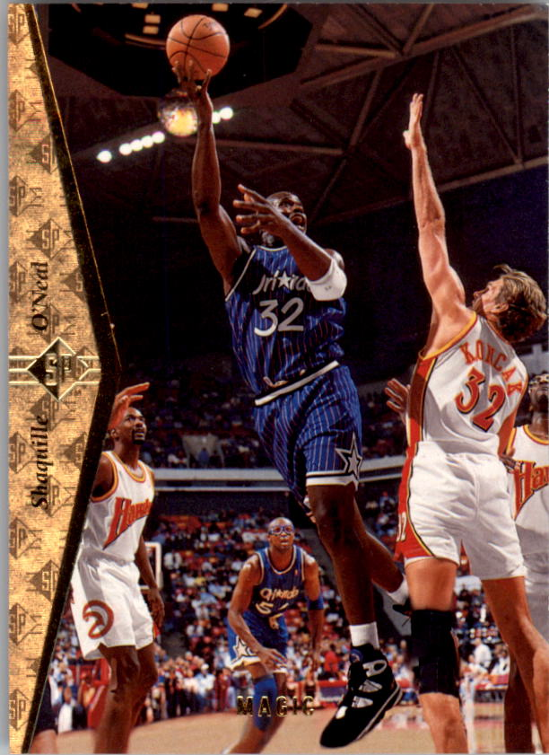 1994-95 SP #121 Shaquille O'Neal