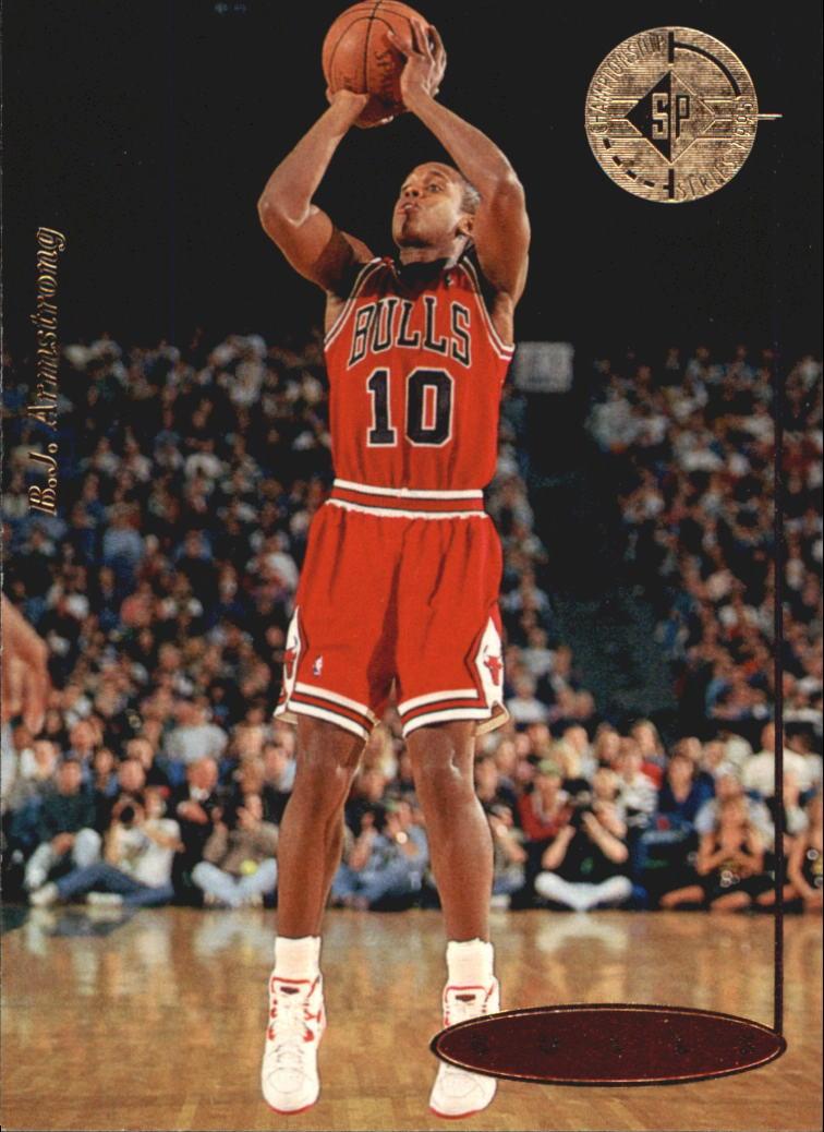 1994-95 SP Championship #40 B.J. Armstrong