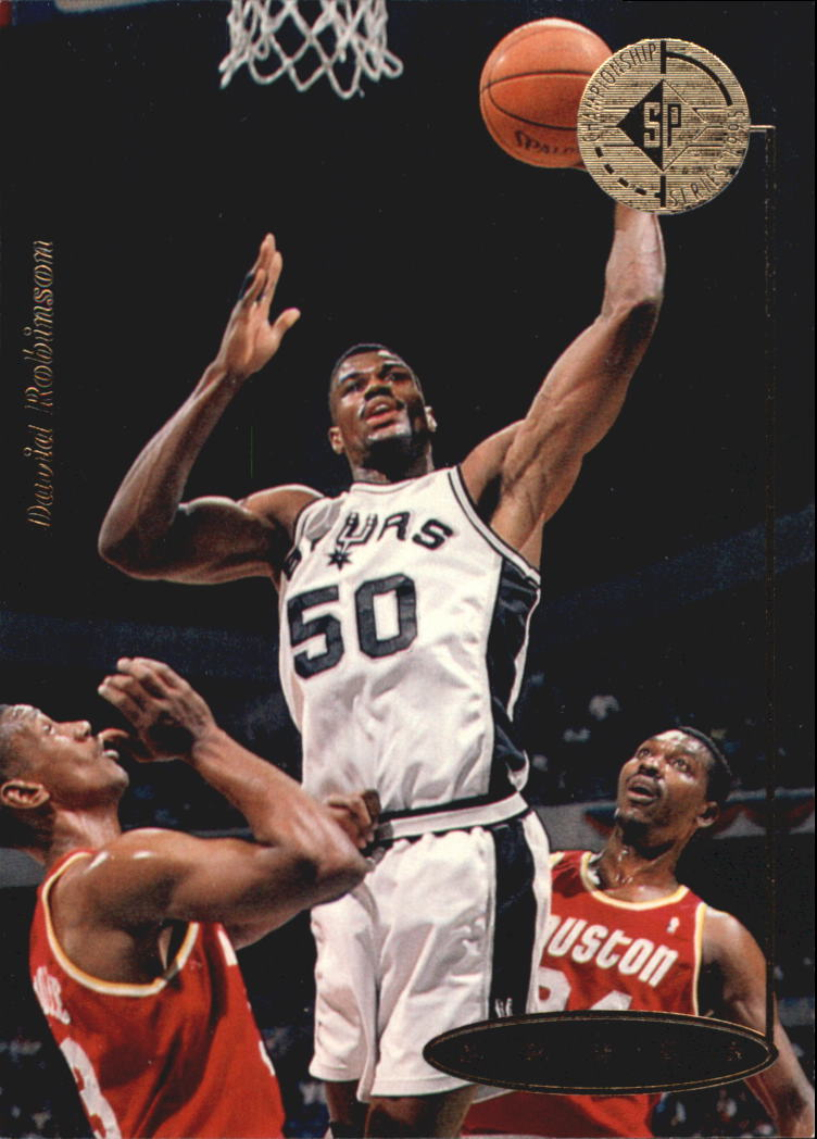 1994-95 SP Championship #122 David Robinson