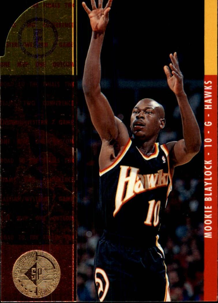 1994 95 SP Championship Die Cuts 1 Mookie Blaylock RF NM MT