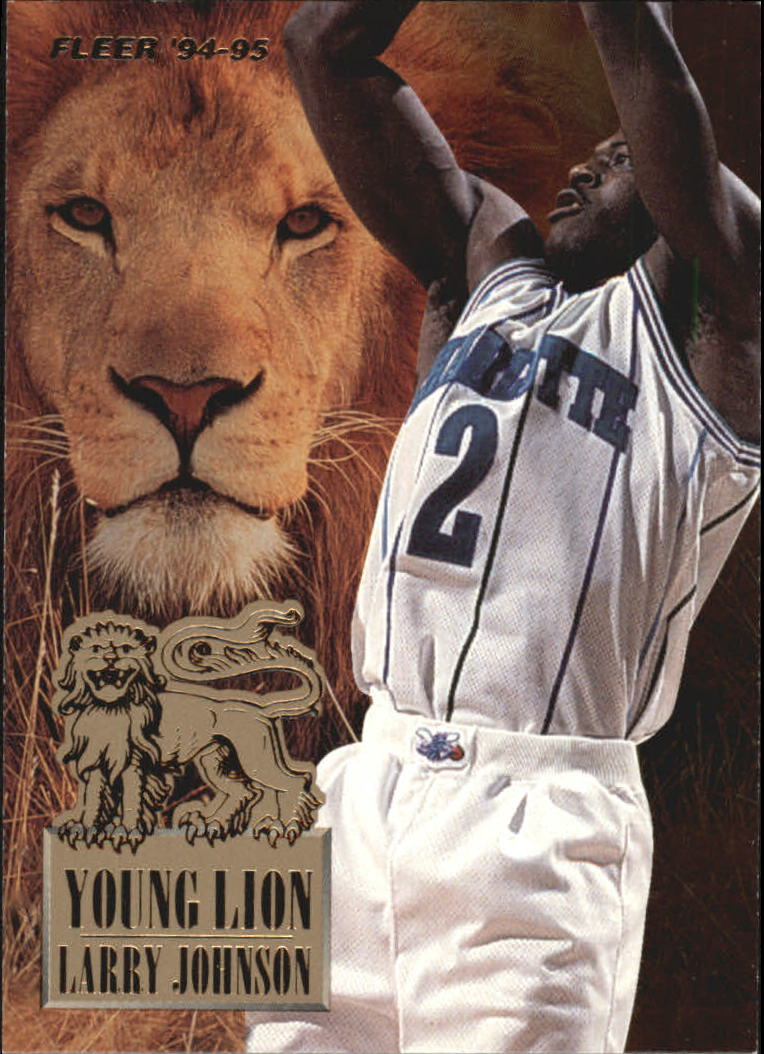 1994-95 Fleer Young Lions #3 Larry Johnson
