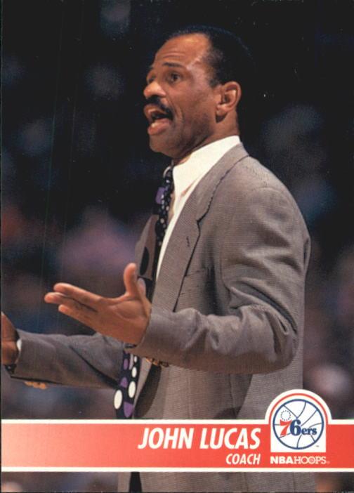1994-95 Hoops #291 John Lucas CO