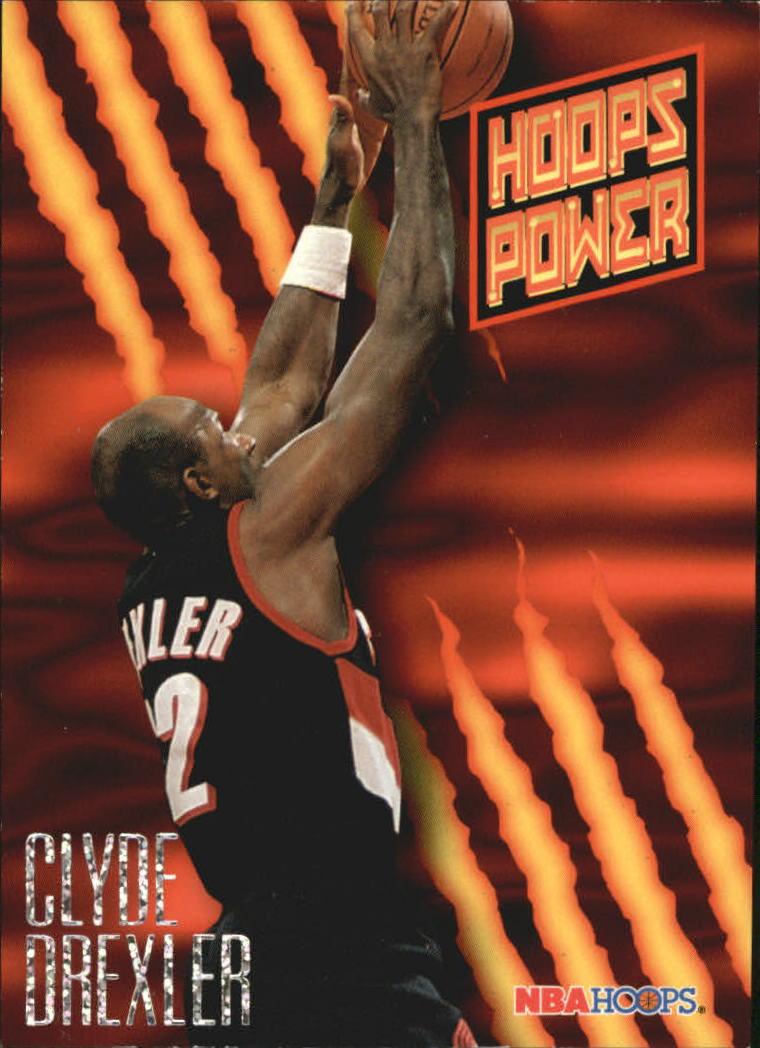 1994-95 Hoops Power Ratings #PR43 Clyde Drexler