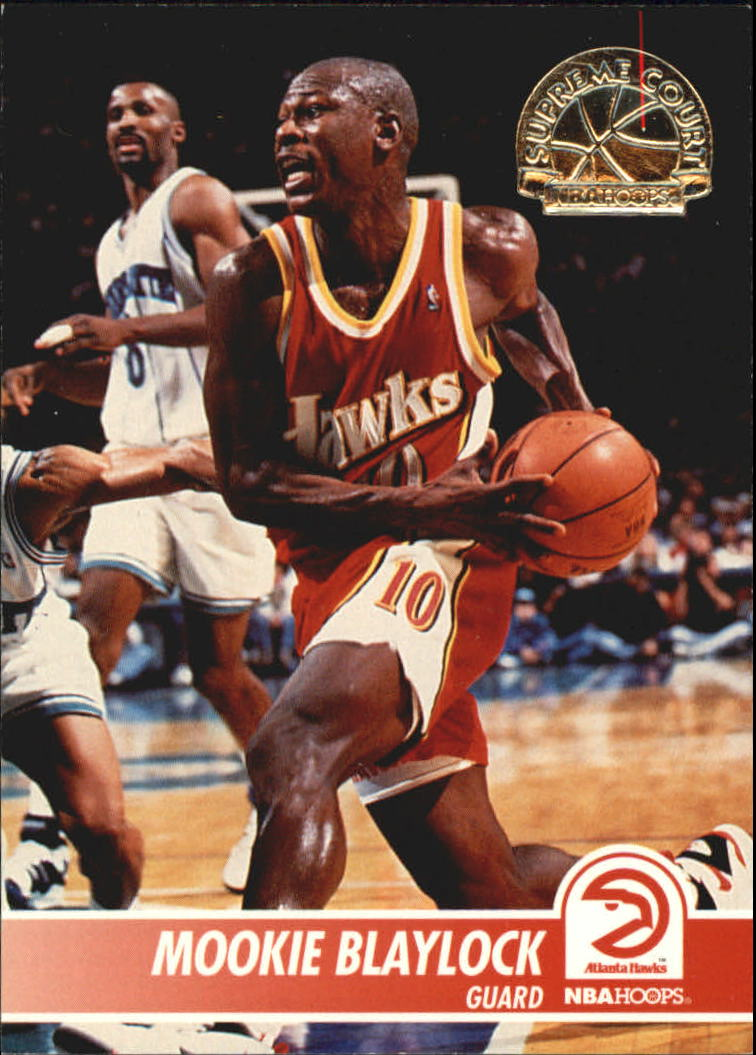 1994 95 Hoops Supreme Court SC1 Mookie Blaylock NM MT