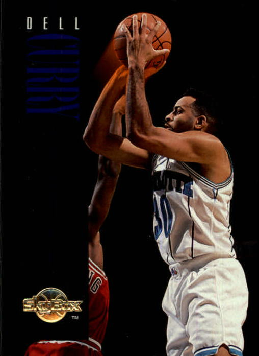1994-95 SkyBox Premium #16 Dell Curry