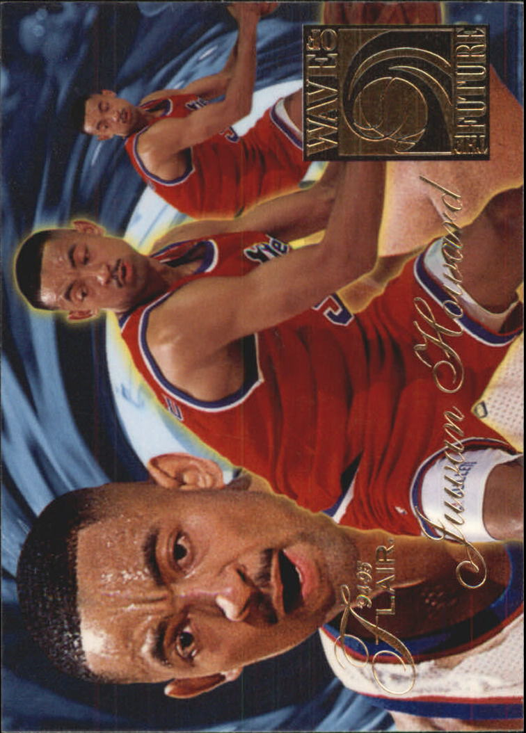 1994-95 Flair Wave of the Future #3 Juwan Howard