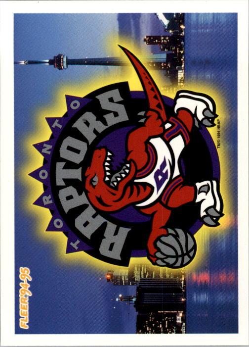 1994-95 Fleer #237 Toronto Raptors Logo