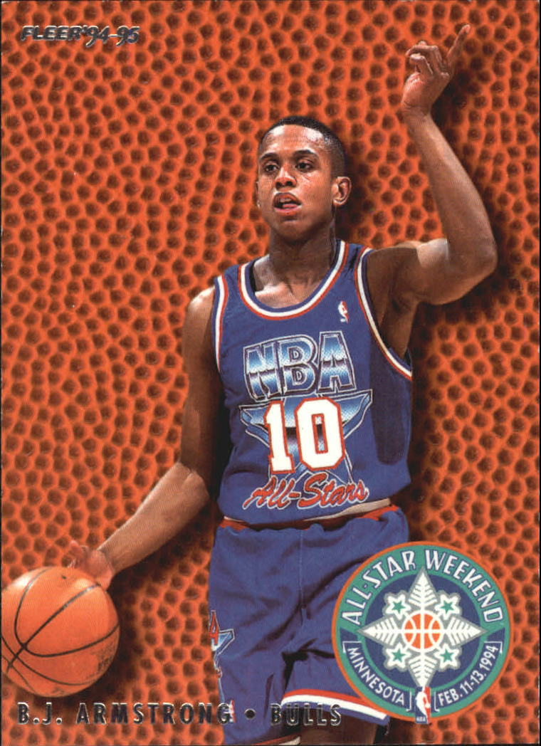1994 95 Fleer All Stars 2 Bj Armstrong Nm Mt