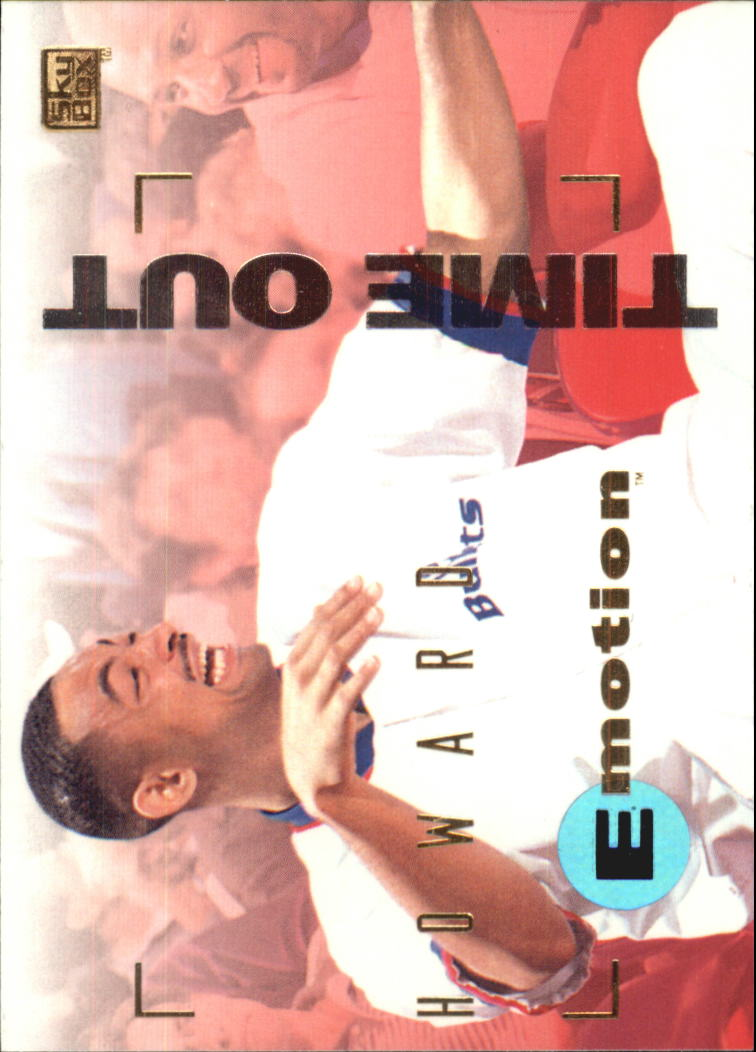 1994-95 Emotion #98 Juwan Howard RC