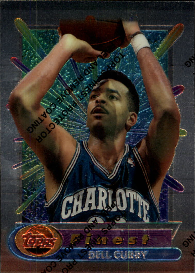 1994-95 Finest #16 Dell Curry