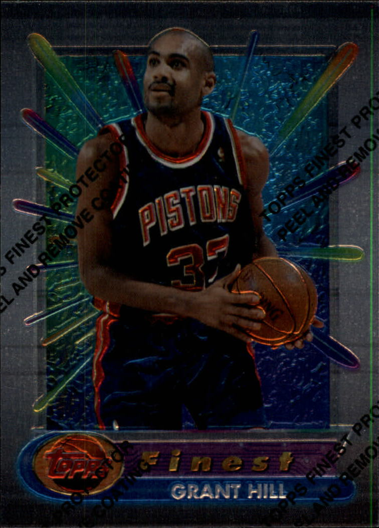 1994-95 Finest #240 Grant Hill RC