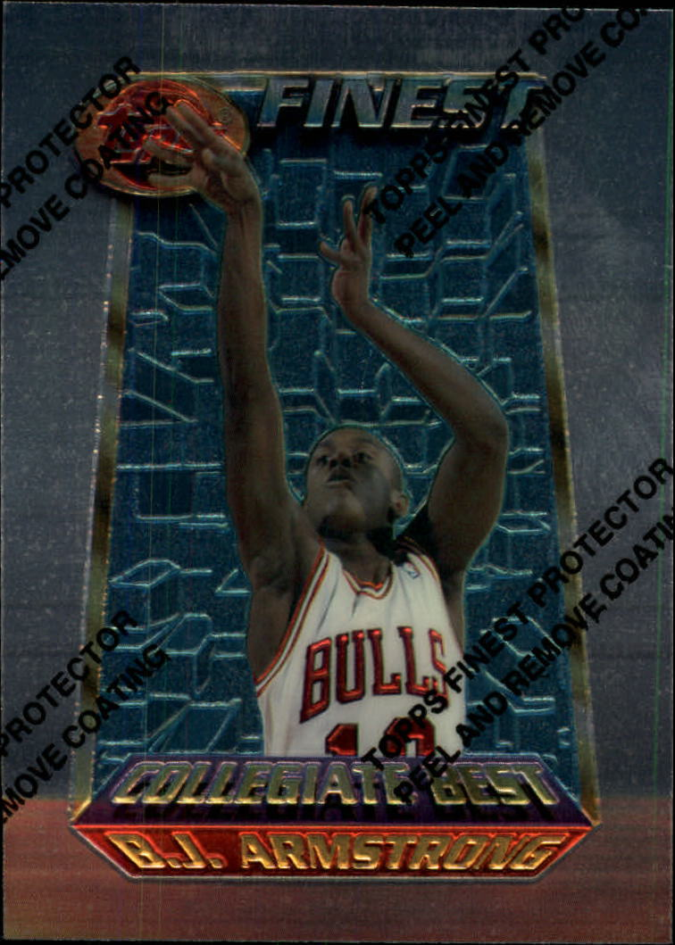 1994-95 Finest #252 B.J. Armstrong CB