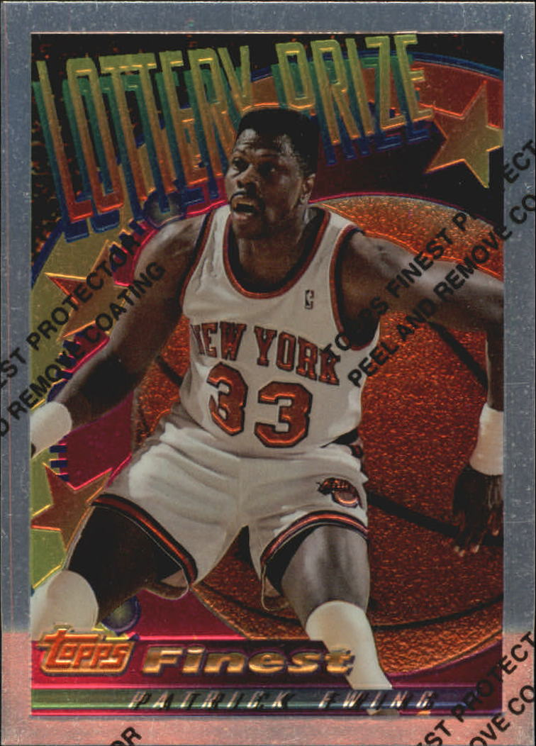 1994-95 Finest Lottery Prize #LP1 Patrick Ewing