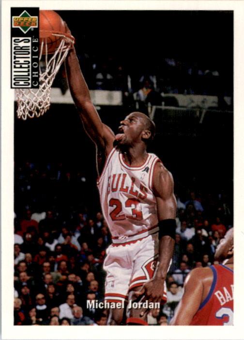1994-95 Collector's Choice #240 Michael Jordan COMM