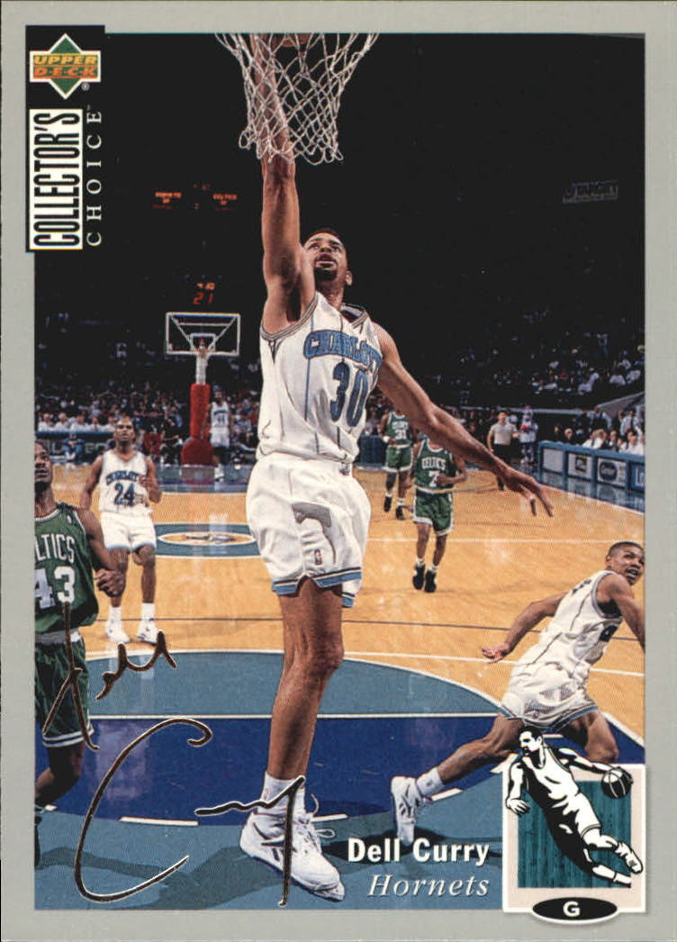 1994-95 Collector's Choice Silver Signature #30 Dell Curry