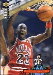 1994-95 Collector's Choice Silver Signature #402 Michael Jordan TRIV