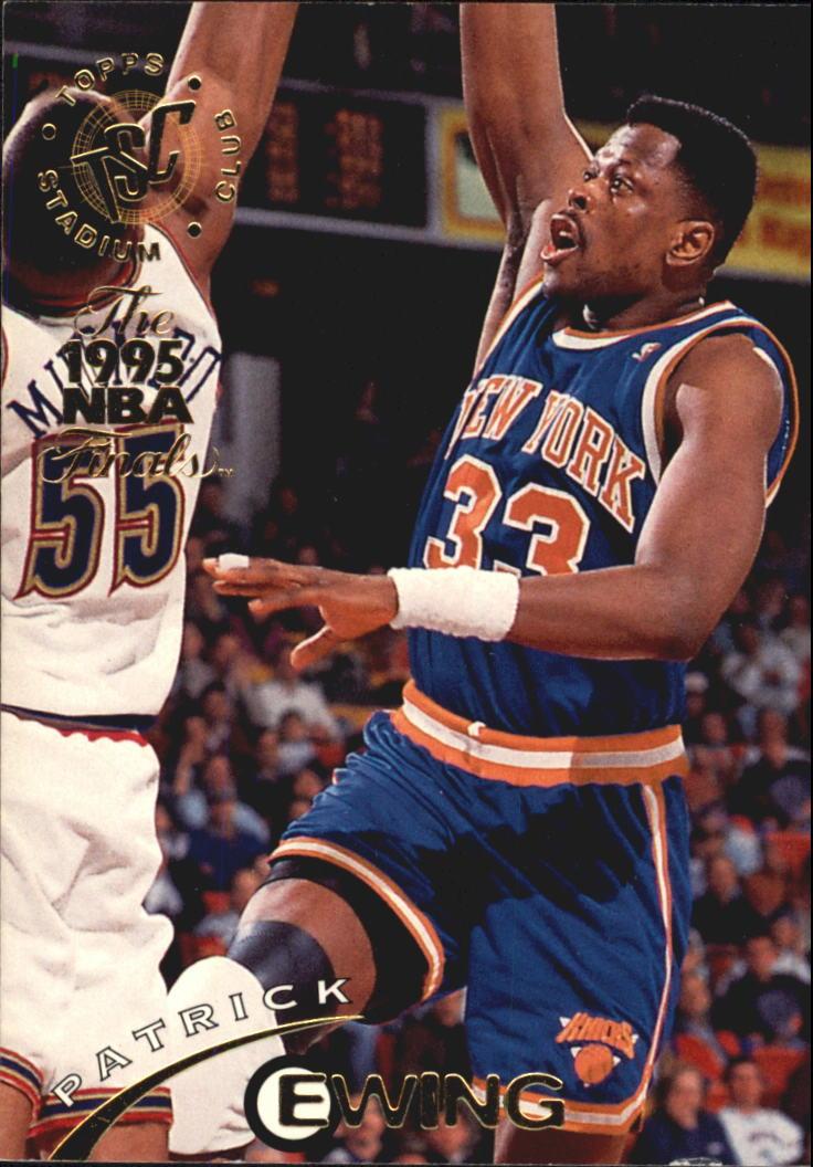 1994-95 Stadium Club Super Teams NBA Finals #1 Patrick Ewing