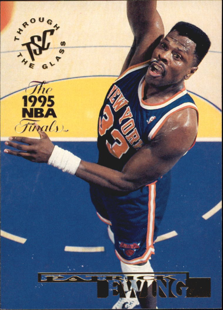 1994-95 Stadium Club Super Teams NBA Finals #2 Patrick Ewing TG