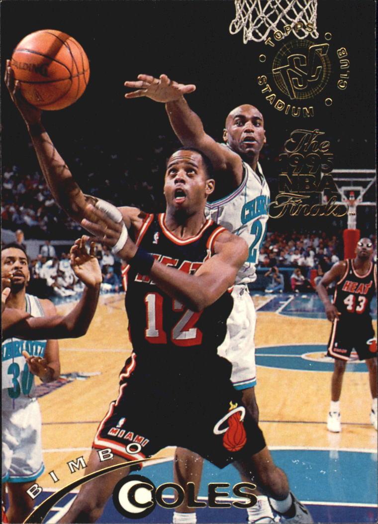 1994-95 Stadium Club Super Teams NBA Finals #3 Bimbo Coles