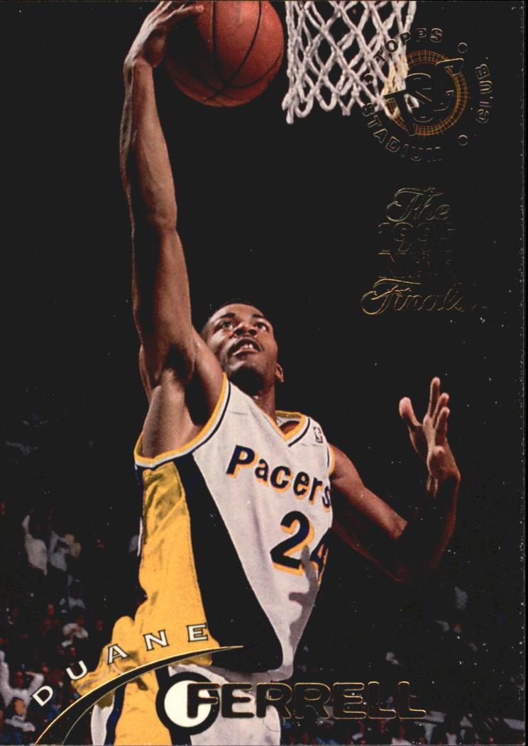1994-95 Stadium Club Super Teams NBA Finals #219 Duane Ferrell