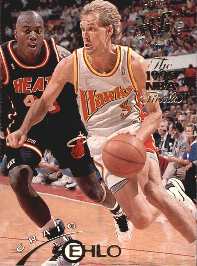 1994-95 Stadium Club Super Teams NBA Finals #264 Craig Ehlo