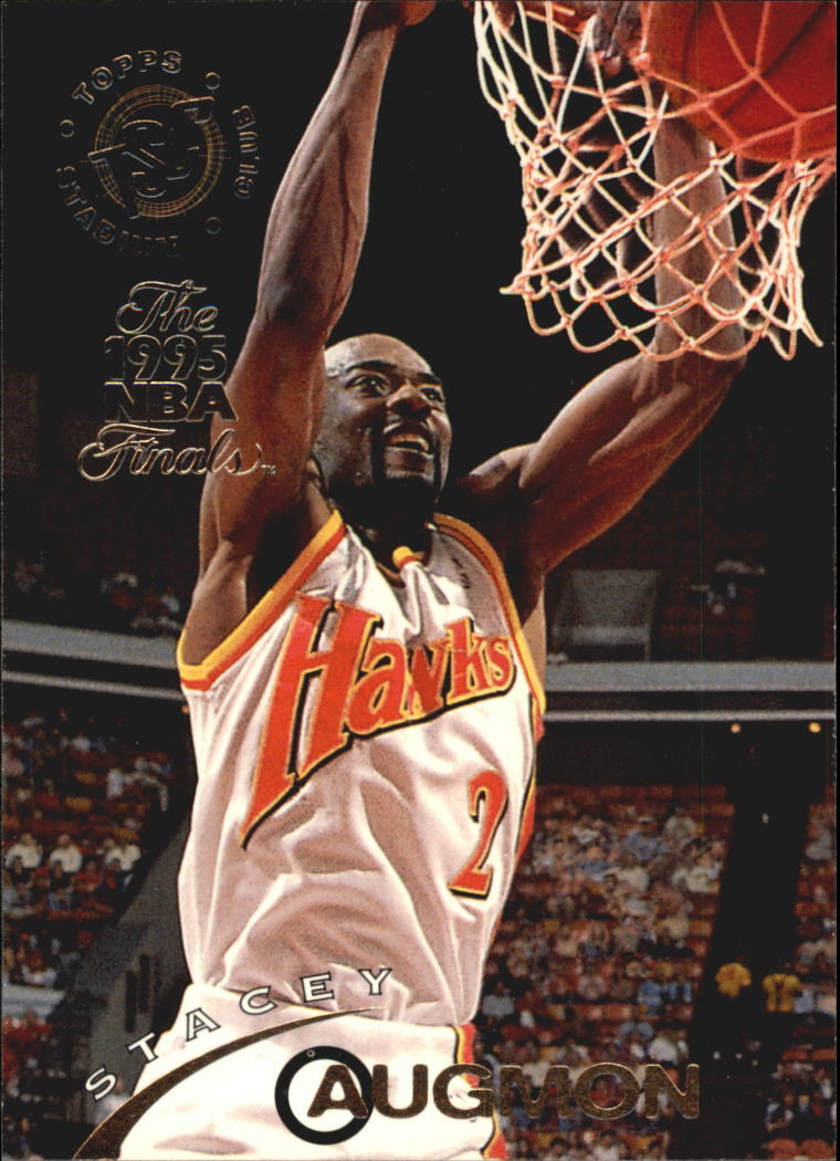1994-95 Stadium Club Super Teams NBA Finals #342 Stacey Augmon