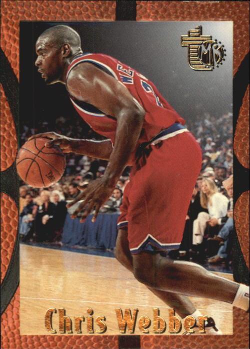 1994-95 Embossed #100 Chris Webber