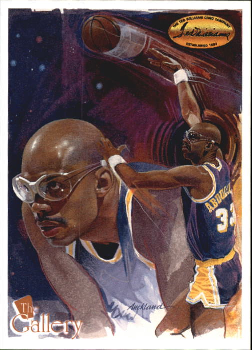 1995 Ted Williams Gallery #G3 Kareem Abdul Jabbar