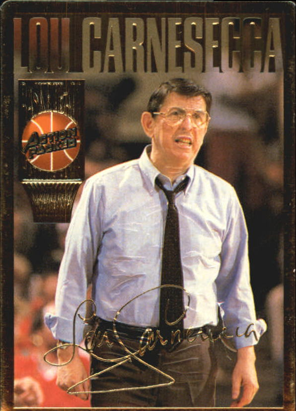 1995 Action Packed Hall of Fame #3 Lou Carnesecca