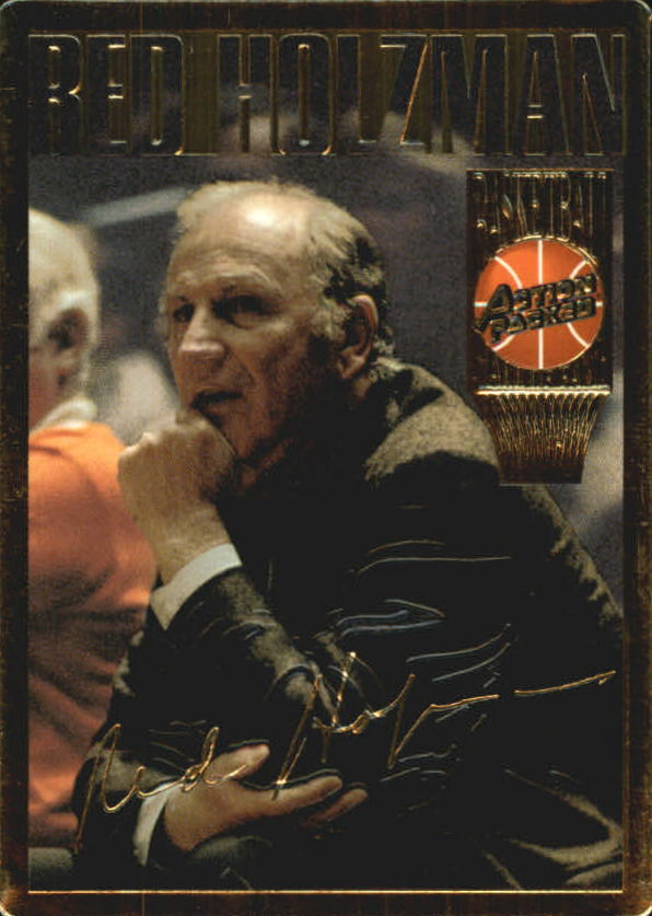 1995 Action Packed Hall of Fame #4 Red Holzman
