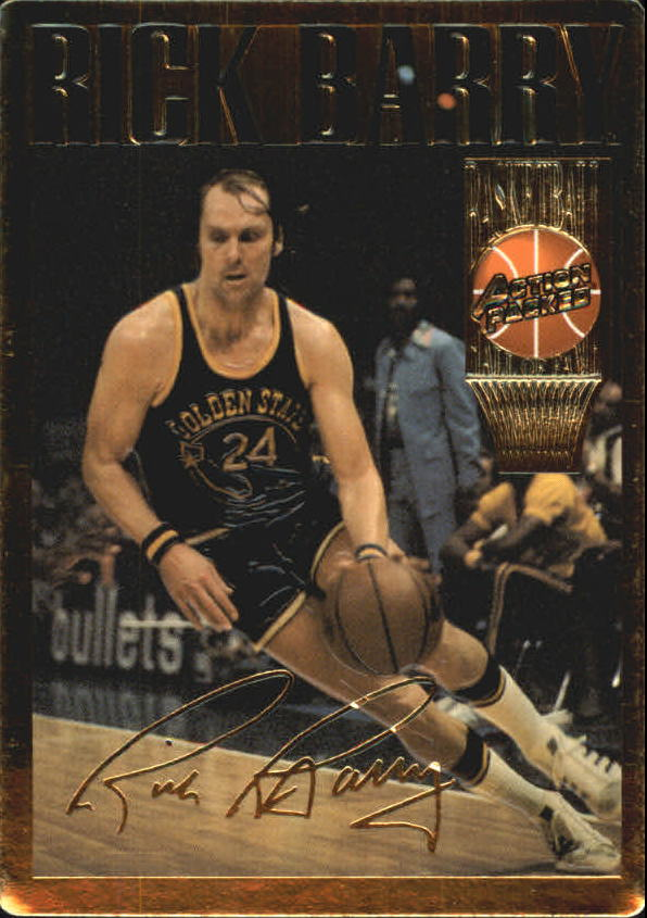 1995 Action Packed Hall of Fame #5 Rick Barry