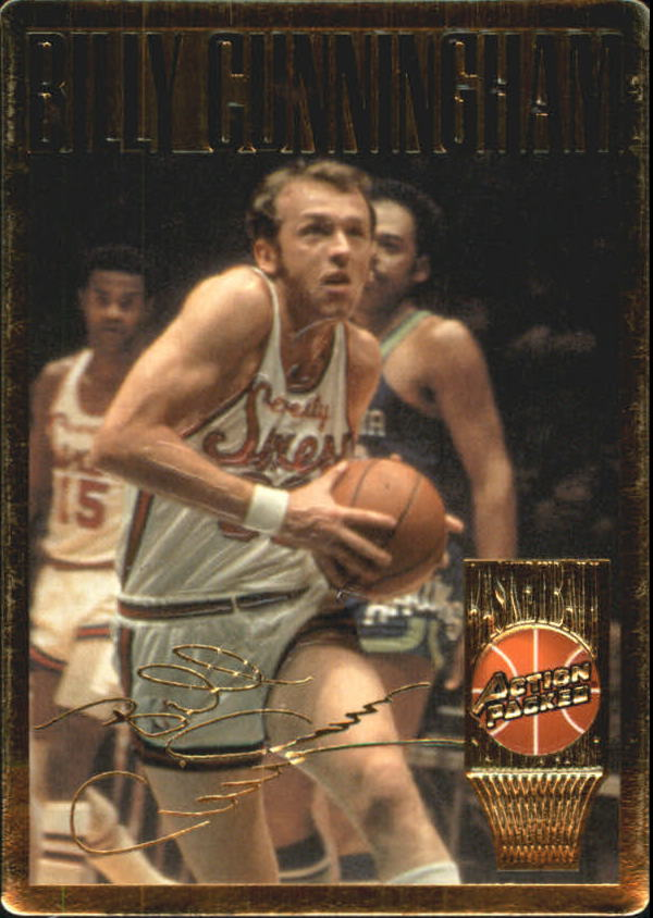 1995 Action Packed Hall of Fame #6 Billy Cunningham