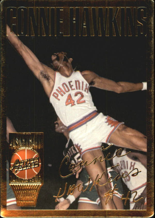 1995 Action Packed Hall of Fame #7 Connie Hawkins