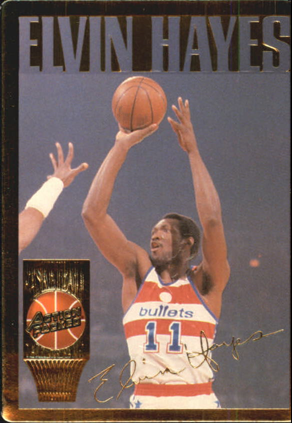 1995 Action Packed Hall of Fame #10 Elvin Hayes