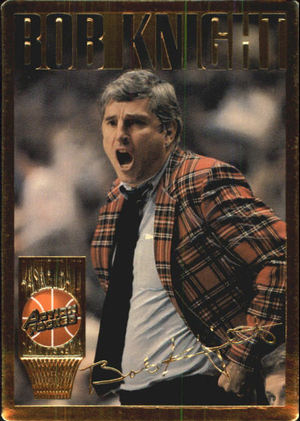1995 Action Packed Hall of Fame #12 Bob Knight