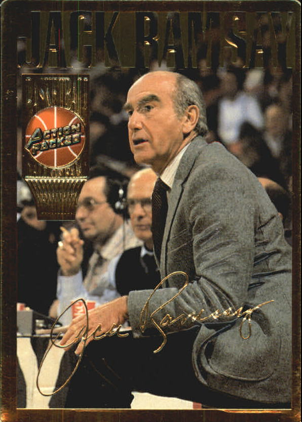 1995 Action Packed Hall of Fame #15 Jack Ramsay
