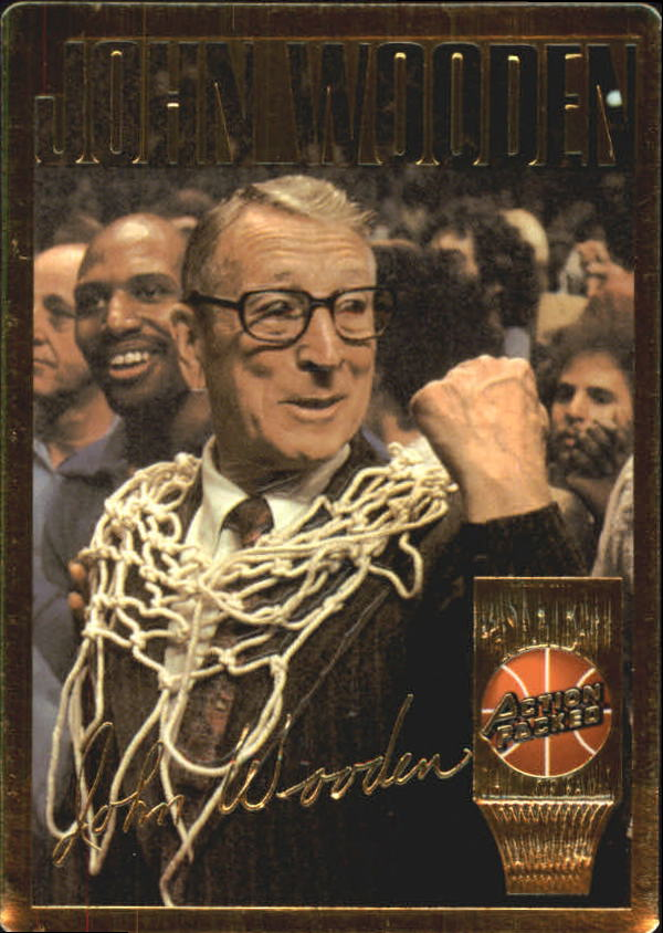 1995 Action Packed Hall of Fame #16 John Wooden